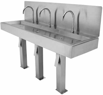 hands-free-wash-hand-basin-food-industry - Chilli-B