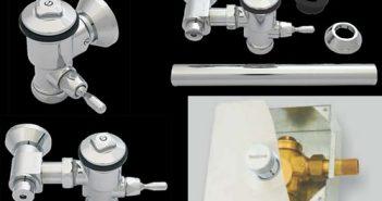 flush valves installation models