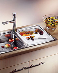 Blanco drop-in stainless steel sinks