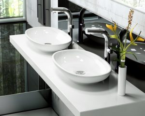 Cabrits 55 free standing stone basin