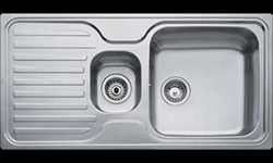 TE-10119037 Small double bowl kitchen sink