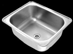 DLT Luxtub Inset industrial wash trough