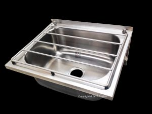 hospital drip cleaner sink gallows brackets stainless steel
