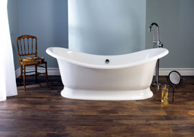 Marlborough-Double-Victorian-Slipper-Free-Standing-Stone-Bath-modern-tap-stand