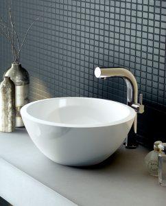 Victoria & Albert Maru-42 freestanding modern stone bathroom basin
