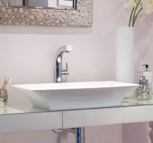 Ravello 60 free standing stone bathroom basin