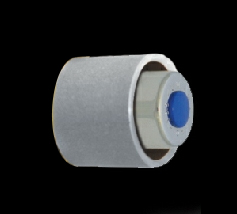 Stainless steel duct button for toilets and urinals