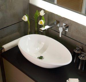 Victoria Albert Napoli 57 free standing stone bathroom basin
