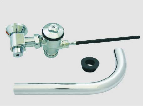 Walcro handicap toilet flush valve for back entry