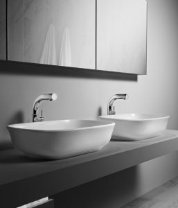 Victoria and Albert Amiata 60 classic stone bathroom basin