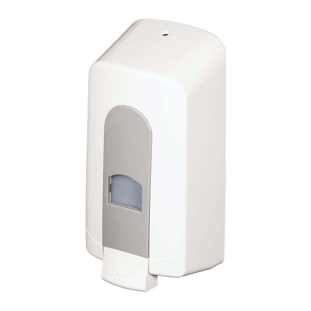 Wall Mounted Dispenser ~ Wall mounted soap dispensers manual or sensor type models