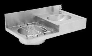 DSBC drip sink for hospitals and clinics