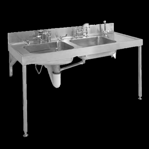 Combination bedpan and sluice sink