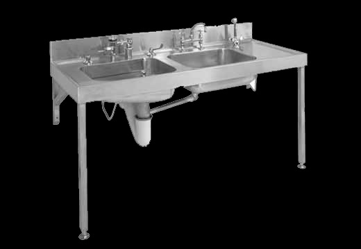 EC Combination bedpan and washup sink