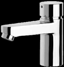 Aqua 203 self closing pillar tap