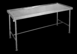MT mortuary stainless steel table made in South Africa