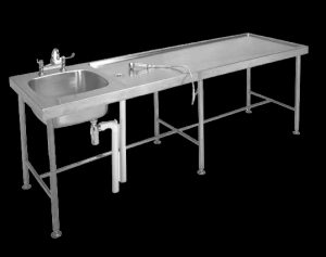 Franke MTS Mortuary table with bowl at one end 350850 | 2630021