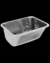 SIRX342 single inset scullery wash trough