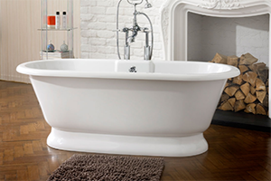 york classic free standing small bath