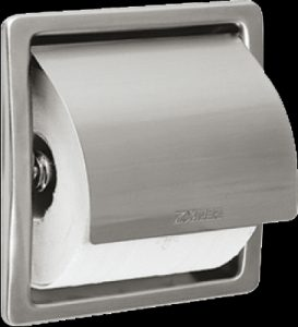 Franke STRX673E Stratos single toilet roll holder recessed - 2120045