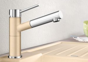 blanco-alta-S-silgranit-coloured-kitchen-tap
