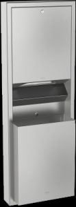 Franke Rodan recessed paper towel dispenser waste bin combo RODX602E