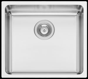 Kwikot Lydia 450 square modern large undermount kitchen sink