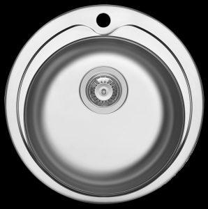 Kitchen prep bowl with tap landing