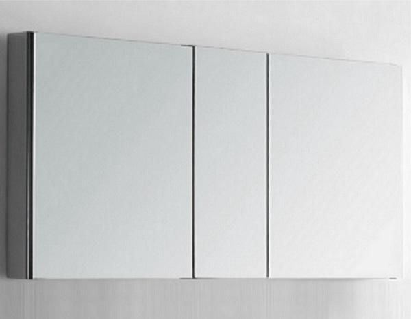 Double Bathroom Mirror Cabinet