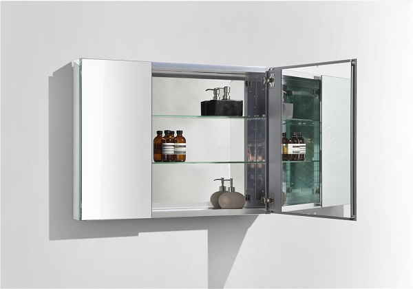 Bathroom mirror cabinets wall mounted mirror cabinets for Bathroom cabinets co za