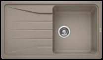 single bowl kitchen sink brown tan