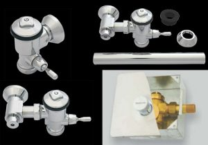 flush valves installation models