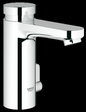 Metered water saving tap with temperature control