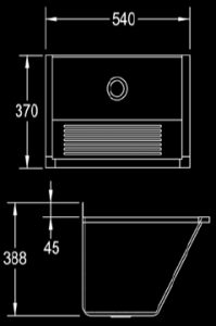 ET103-Mini-Single-Fabricated-Economy-Type-Wash-trough-dimensions
