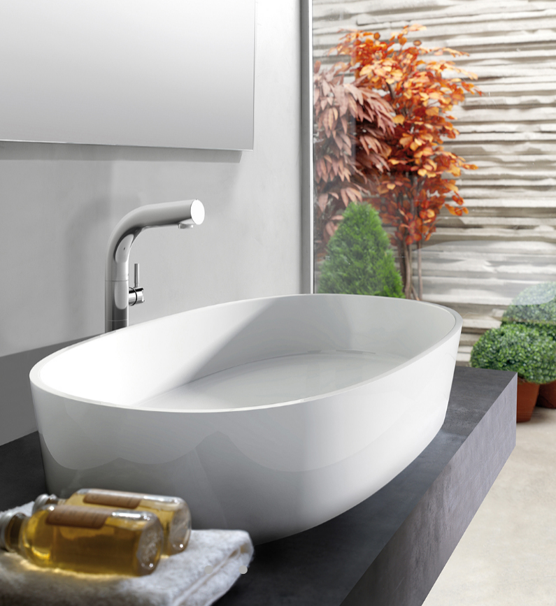 Bathroom Basins Counter Top Or Wall Hung In Various