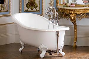 Shropshire free standing classic victorian small bath