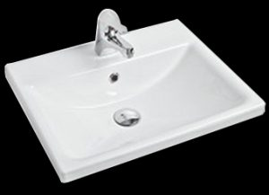 Vibe inset ceramic basin