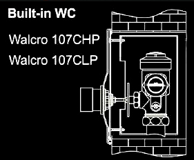 Walcro 107 installation diagram