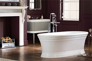 Worcester classic free standing bath
