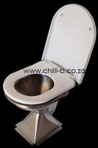 Soft close toilet seat with stainless steel hinges