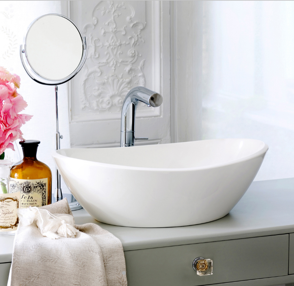 Bathroom basins - Counter-top or wall-hung in various ...