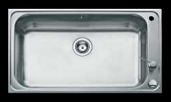 TE-12127001 Single large bowl kitchen sink