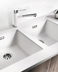 Blanco Silgranite granite undermount kitchen sinks