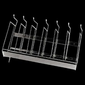BR Hospital bedpan and bottle rack made from stainless steel