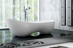 Cabritz free standing bath