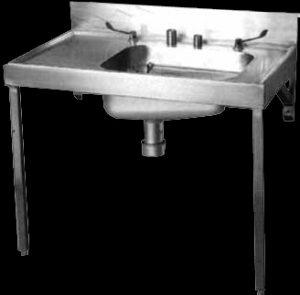 EL bedpan sluice sink