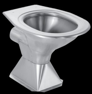 Franke hcl pedestal wc pan stainless steel toilets