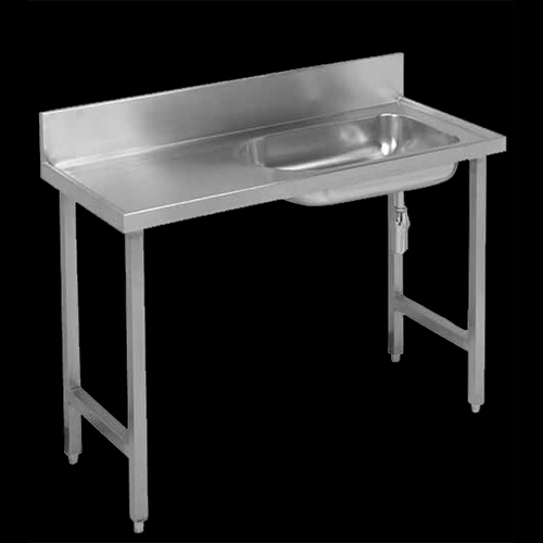 Free standing stainless steel baby bath for hospitals and clinics