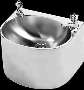 Heavy duty stainless steel wall mounted factory basin franke 325306