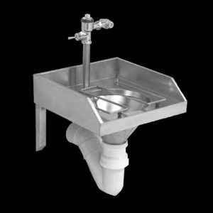 Slop Hopper Or Sluice Sinks